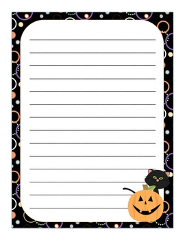 Halloween Stationery Freebie