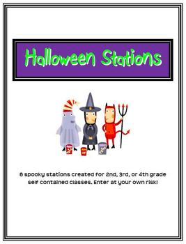 Halloween Stations-7 fun stations for Halloween Day