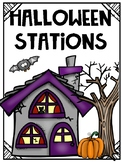 Halloween Stations: Language Arts and Math