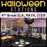 Halloween Stations: STEM, MATH, LA **Editable**