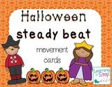 Halloween Steady Beat Movement Cards