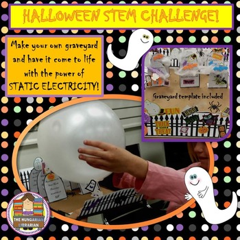 Halloween Stem: Static Electricity Ghosts!