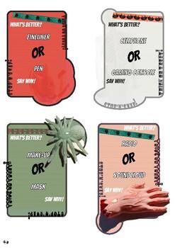 Halloween Stop'n'Swap Cards