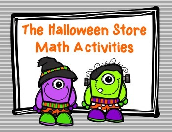 The Halloween Store: Word Problems Using Money