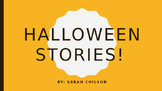 Halloween Stories With Basic WH- Questions