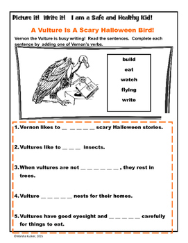 Halloween Stories and Sentences Bundle by KidZ Learning Connections