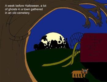 Halloween Story: Coward Boo