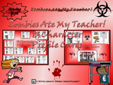 Halloween Story Crafting Zombies Ate My Teacher! Character Profile Cards