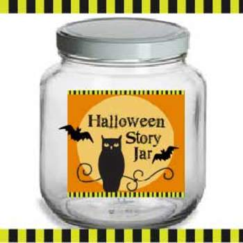Halloween - Story Jar ** ORIGINAL ARTWORK