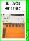 Halloween Story Maker and Record Sheet
