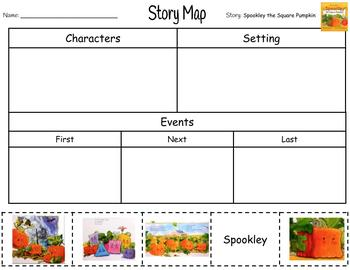 Halloween Story Maps