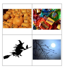 Halloween Story Problem Activity