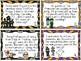 Halloween Story Problem Task Cards - Multi-Step Problems