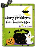Halloween Story Problems x 2
