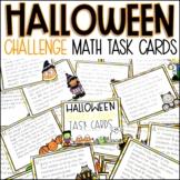 Halloween Math Story Problems Challenge