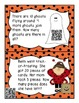 Halloween Story Problems with QR Codes
