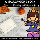 A Halloween Story-Reading Comprehension+Vocabulary - #Hall