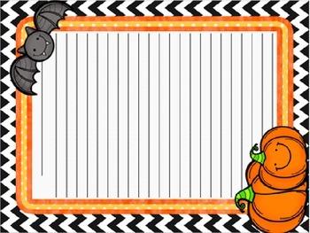 Halloween Story Starter Freebie