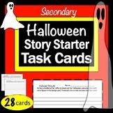 Halloween Story Starter Task Cards