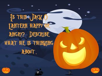 Halloween Story Starters Interactive Presentation