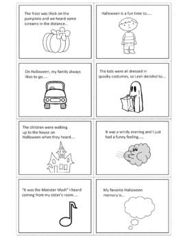 Halloween Writing Prompts for Creative Writing Story Starters