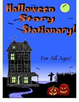Halloween Story Stationary