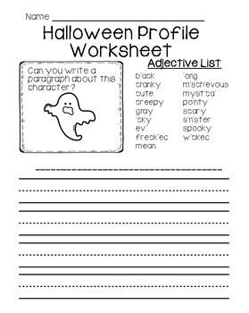 Halloween Story Writing Activities