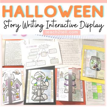 Halloween: Story Writing {Interactive Notebook}