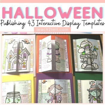 HALLOWEEN STORY WRITING: INTERACTIVE NOTEBOOK: ELEMENTS OF A PLOT