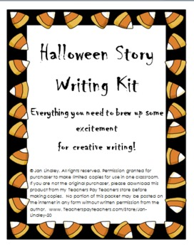 Halloween Story Writing Kit