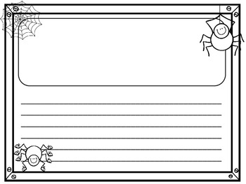 Halloween Story Writing Paper