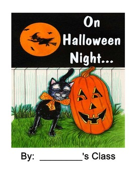Halloween Story and Costume Class Book!