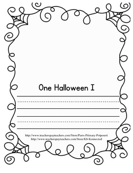 Halloween Story booklet