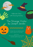 Halloween Story with Drawing Activity