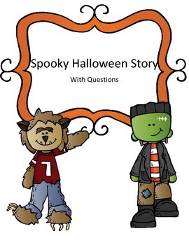 Halloween Reading Passage with Questions: The House at the