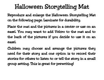 Halloween Storytelling Set