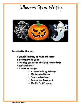Halloween Storywriting