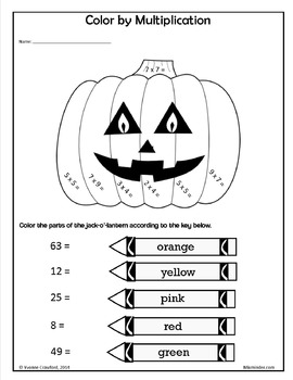 Halloween NO PREP Printables - Fourth Grade Common Core Math and Literacy