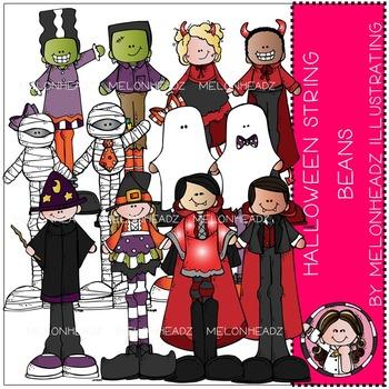 Halloween clip art - String Beans- by Melonheadz