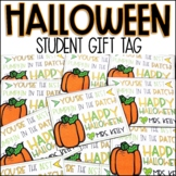 Halloween Student Gift Tag