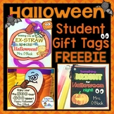 Halloween Student Gift Tags Free (Non-Candy Gifts)