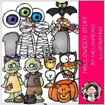 Halloween stuff clip art- by Melonheadz
