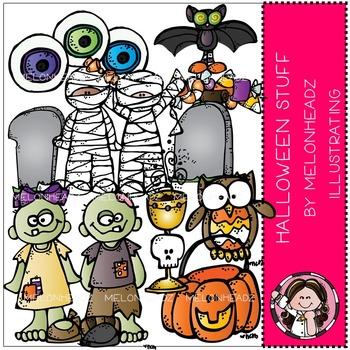 Melonheadz: Halloween stuff clip art - COMBO PACK