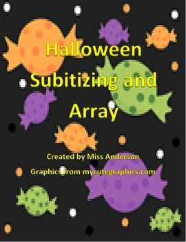 Halloween Subitizing and Array