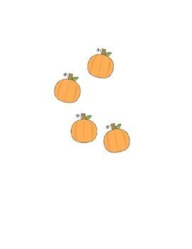Halloween Subitizing and Array