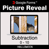 Halloween: Subtraction 0-10 - Google Forms Math Game | Dis