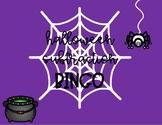 Halloween Subtraction Bingo