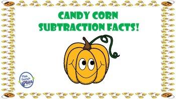 Halloween Subtraction Facts