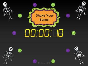 Halloween Subtraction Facts to 20 MOVE IT!