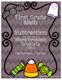 Halloween Subtraction - First Grade